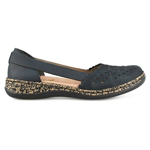 Rieker Strong Black Black Shoe Woman 7rBWF7