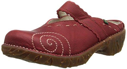 El Naturalista Yggrasil NW096 Damen Clogs & Pantoletten, rot (tibet), EU 40