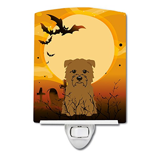 Caroline's Treasures BB4326CNL Halloween Glen of Imal Tan Ceramic Night Light, 6x4x3, Multicolor ()