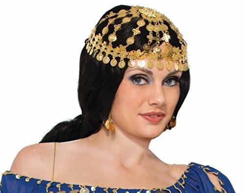 [Fancy Dress Desert Princess Headpiece] (Arabian Costumes For Women)