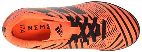 adidas Nemeziz 17.4 TF J, Botas de Fútbol Unisex Niños Multicolor (Solar Orange/core Black)