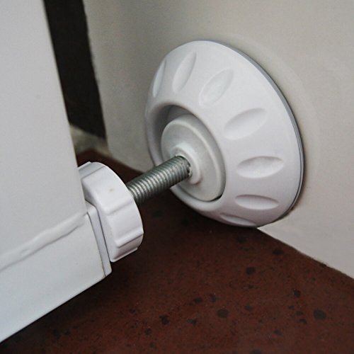 4 Pack Wall Guard Pads for Baby Gate Pressure Mount by Paxcoo