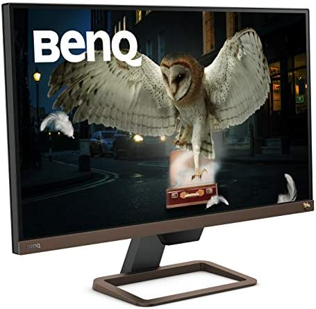 BENQ EW2780U 27 INCH 4K MONITOR | IPS MULTIMEDIA WITH HDMI CONNECTIVITY | HDR | EYE-CARE SENSOR | INTEGRATED SPEAKERS AND CUSTOM AUDIO MODES | USB C CONNECTIVITY AND CHARGING
