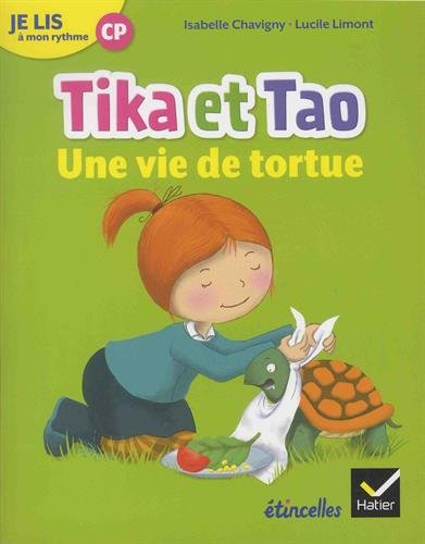 Etincelles - Lecture CP Éd. 2018 - Je lis à mon rythme -Tika et Tao - Une vie de tortue
