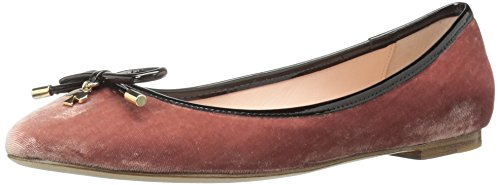 Kate Spade New York Women's Willa Ballet Flat, Antique Rose, 5 M US