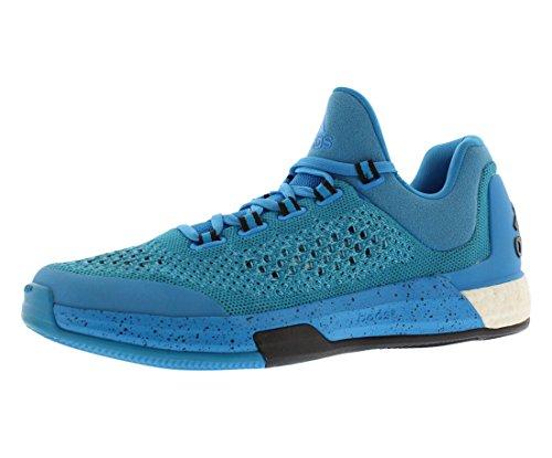adidas Performance Herren 2015 Crazylight Boost Primeknit Schuh Hell Cyan Blau / Solar Gelb