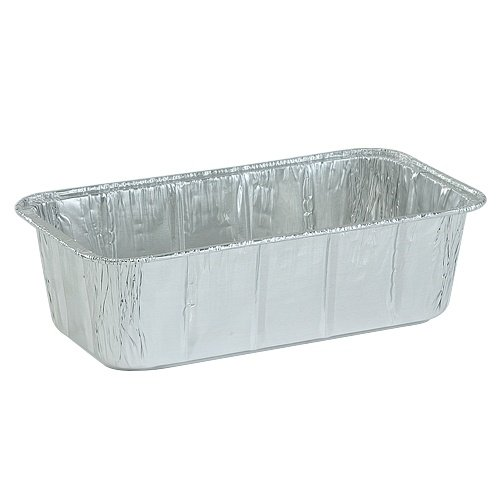 Nicole Home Collection 00600 Aluminum Loaf Pan, 2 lb. (Pa...