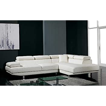 Amazon.com: Divani Casa T60 - Modern Bonded Leather ...
