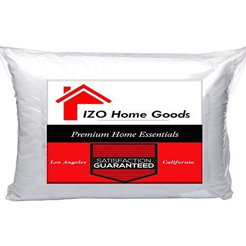 (IZO Home Goods Lumbar Sham Stuffer Hypo-allergenic Poly Pillow Form Insert, 12