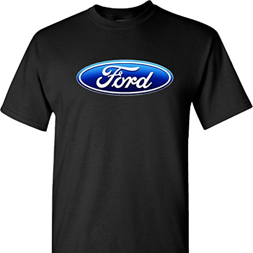 Ford Logo on a T Shirt,Black,2X - Edge Logo T-shirt