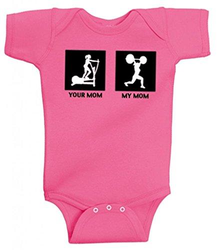 SoRock Kids Mom Onesie Pink product image