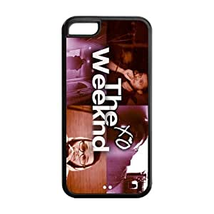 Custom The Weeknd Xo Printed Hard Plastic Back Protective Case for Iphone 5C FC-3
