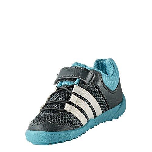 adidas Daroga Plus AC I - Zapatillas de deportepara niños, Gris - (HIEUTI/BLATIZ/AZUENE), 22