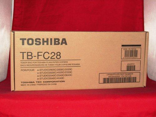 NEW Toshiba OEM TBFC28 TONER BAG For ESTUDIO2830C (Toner Disposal Collect Units)