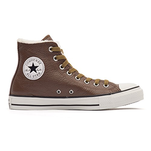 Converse All Star Hi Suede Shearling Chocolate 111516 Unisex - Erwachsene Fashion Sneakers Braun