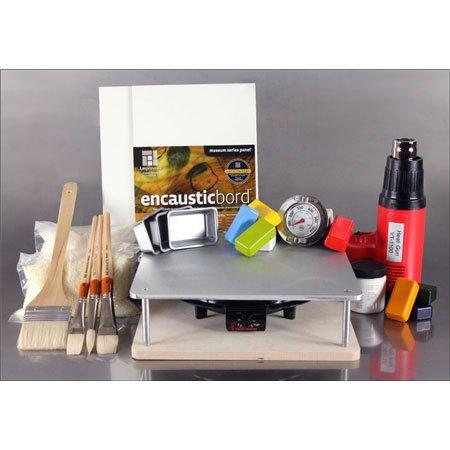 - R&F Encuastic Paints Studio Essentials Kit