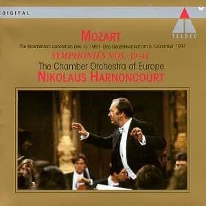 Mozart:   Symphonies 39-41