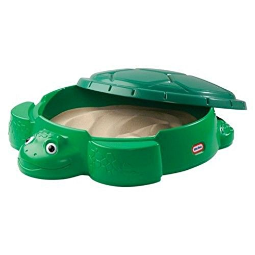 Little Tikes Green Turtle Sandbox (Tikes Turtle Sandbox Little)