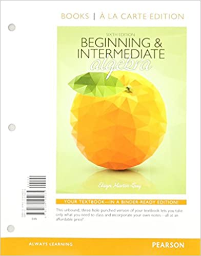 Beginning intermediate algebra with integrated review books a la beginning intermediate algebra with integrated review books a la carte edition plus mymathlab 2nd edition 2nd edition fandeluxe Choice Image