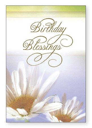 Birthday Blessings Card Religious Christian Catholic Amazon