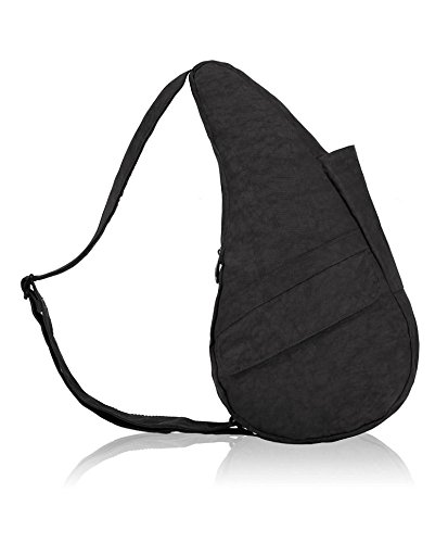 ameribag-classic-distressed-nylon-healthy-back-bag-tote-x-smallblackone-size