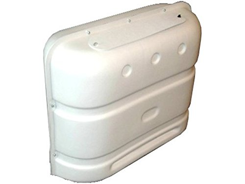 Icon Mens Regulator - ICON Deluxe Propane Tank Cover, Polar White