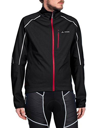 VAUDE Men's Prio Softshell II Jacket, Small, Black