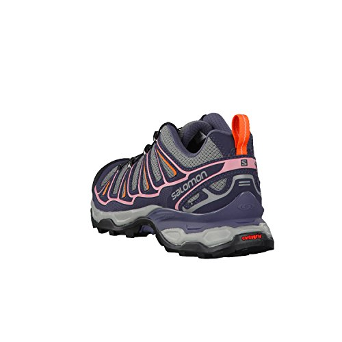 Salomon X Ultra 2 - Zapatos de Low Rise Senderismo Mujer Gris (Quiet Shade/Ombre Blue/Blush)