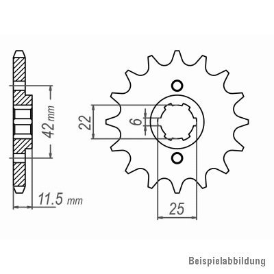 1982-1983 Kettensatz FT 500 DID X-Ring extra verst/ärkt gold