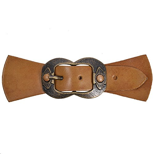 Buckle Tab (Mibo Sew On Faux Leather Tab Closure 3/4