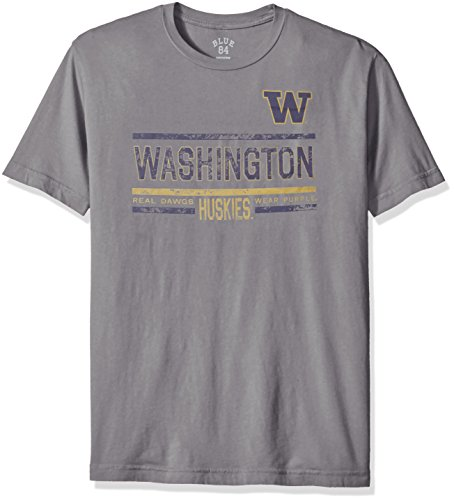 NCAA Washington Huskies Men's Dyed Tee,  - Washington Huskies Tailgate Shopping Results
