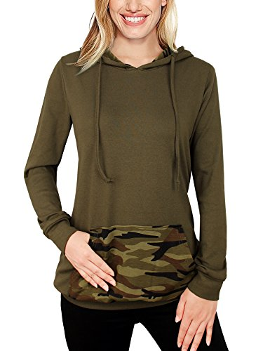 Camouflage Pullover Hooded Sweatshirt - 4