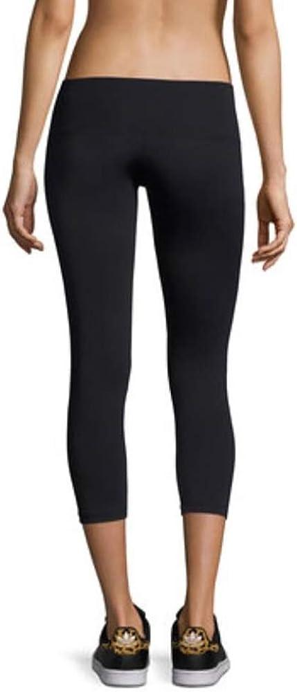 """Women 24/"""" Inseam Cotton Spandex Low Rise Yoga Gym Capri Crop S-5X 30 Colors USA"""