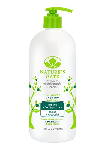 Nature S Gate Calming Tea Tree Sea Buckthorn Shampoo