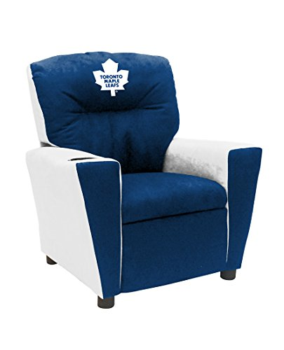 (Imperial Officially Licensed NHL Furniture: Pre-Teen Fan Favorite Microfiber Recliner, Toronto Maple Leafs)