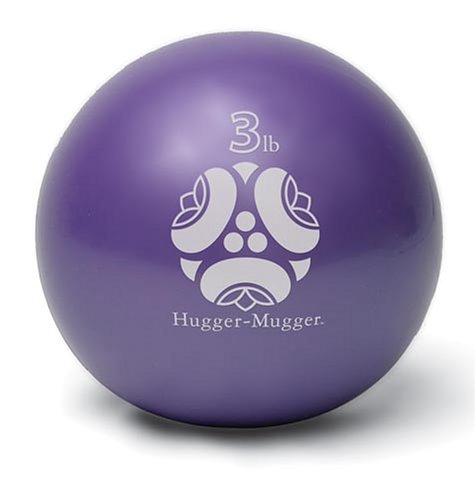 Hugger Mugger Power 3-Pound Weight Ball (Purple)