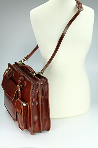 en Verona Sac enseignants quot;Design business ital Belli amp;apos nbsp; Bag unisexe Sacoche cuir qzXtgwxH