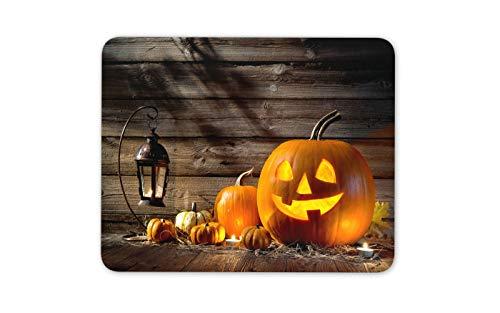 Spooky Pumpkins Mouse Mat Pad - Halloween Lantern Cool Fun Computer Gift -