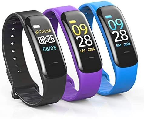 Zippem C1 Smart Bracelet Heart Rate Blood Pressure Waterproof Bluetooth Sport Smart Watches