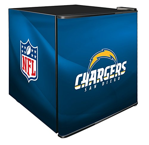 NFL San Diego Chargers Refrigerated Counter Top Cooler, Small, Blue by SG Merchandising Solution