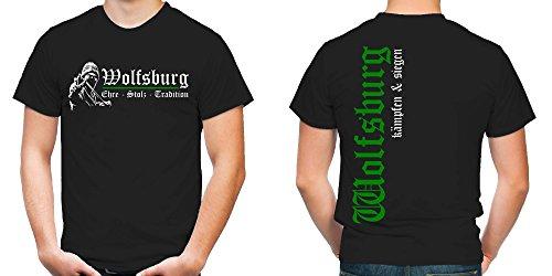 Wolfsburg Ehre & Stolz T-Shirt   Fussball   Ultras   FB