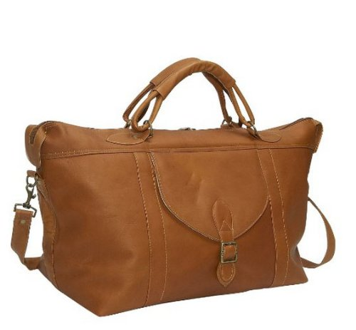 david-king-co-top-zip-travel-bag-tan-one-size