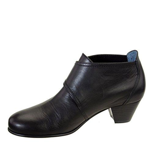 Tate M David Grain Black Pebble Black 9 Status Women's Calf boots Leather 7x6qOwx