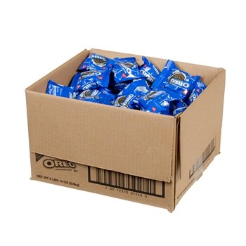 Halloween Treats? Nabisco Oreo Cookies Shelf-stable Individually Wrap 2 Ct Package 120 in Case Gift Basket Resale (Halloween Oreo Treats)