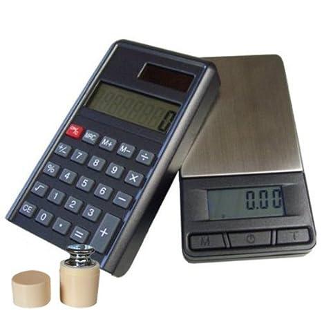 G&G - Báscula digital de precisión con calculadora - Peso máximo: 200 g / Granularidad