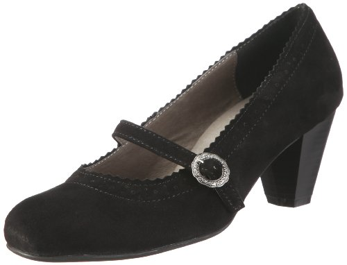 by Court Andrea Conti Black Women's Schwarz 590437002 Hirschkogel Shoes P1dwq1