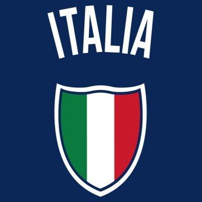 Sudadera con capucha de mujer Italia Fan by Shirtcity Azul marino