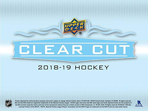 Hockey Hobby Pack - 2018-19 Upper Deck Clear Cut Hockey Hobby Box