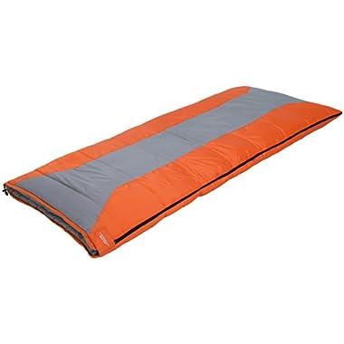 ALPS Mountaineering Crater Lake Plus 20-Degree Rectangle Sleeping Bag, Regular/3-Pound