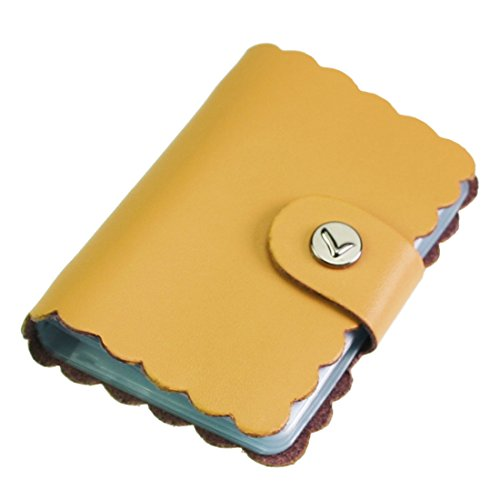 kilofly Credit Card Holder - Retro Style with 26 Card Pockets - Byron, with kilofly Mini Gift-for-You Card